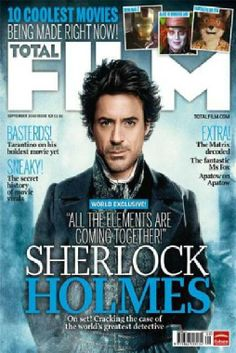 Masthead- I like the way the two words are combined to make the one, I also like the layering of the magazine. The way sherlock is above the masthead but the masthead remains fully legible.