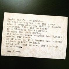 Life is the cake, love is just the cherry on top. ❤️ Go live. #angfrank #instaquote #poem #poet #instapoet #poetry #writersofig #writersofinstagram #wordporn #words #love #quoteoftheday #poetrygram #instagood #write #damnDaniel #typewriterseries #micropoetry #writerscommunity #spilledink #poetrycommunity #thefeels #prose #poetryisnotdead