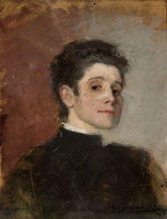 Olga Boznańska, Autoportret/ Self - Portrait, 1896, property of the National Museum in Warsaw, photo: Wilczyński Krzysztof - photo 10