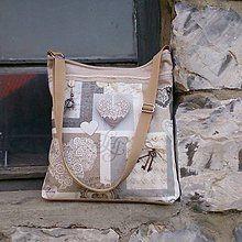 Veľké tašky - Kabelka staré časy - 6691523_