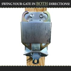 2-Way Locking Latch | Gate and Latches | RAMM Horse Fencing & Stalls #horses #gatelatch #gatesupplies #horsefencing #rammfence