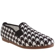 840746ba4394 womens flossy white   black plimsoll houndstooth flats. Flossy shoes seem  like they are not very good quality