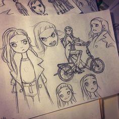 Instagram media by anna_cattish -  #sketching #alabamacomics #tanka