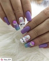 Do you search the new trending concepts, nail colors, nail spring design for your hand? Unicorn Nails Designs, Unicorn Nail Art, Pretty Nail Art, Cute Nail Art, Cute Nails, Nails For Kids, Girls Nails, Girls Nail Designs, Cute Nail Designs