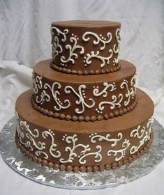 chocolate wedding cakes - Google Search