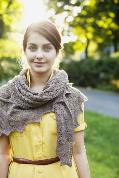 Sempervivum shawl from Brooklyn Tweed
