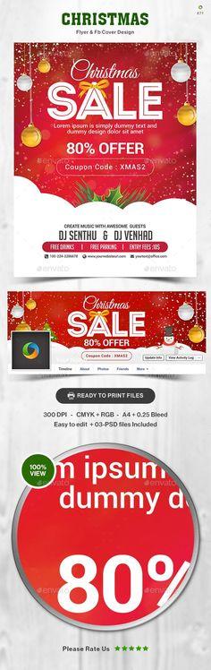 Christmas Flyer Postcard Templates Christmas flyer, Postcard - coupon flyer template