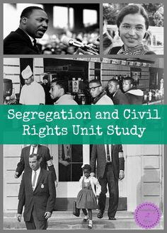 Something 2 Offer has a FREE Segregation and Civil Rights Unit Study. This study includes links, books, lessons, printables and more!