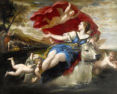 Francesco Albani – Jupiter in the shape of a bull carrying off Europa