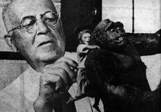 """""""King Kong"""" (1933) Willis O'Brien  #KingKong #DynitRKO"""