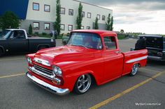 "'58 Chevy--one of those ""not quite done"" projects. Go to this link for the full story: http://mystarcollectorcar.com/august-2016-58-chevy-pickup-a-classic-example-of-when-its-not-quite-done/ #58Chevytruck"