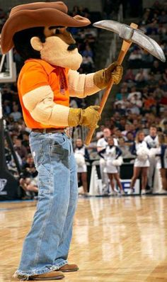 UTEP Texas El Paso Miners - Paydirt Pete mascot