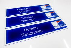 Office door signs and NamePlates for managing director office doors  http://www.de-signage.com/Officesigns.php