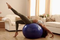 Have you tried fitball yet? It's great for toning your core!! Come to Clarkston Hot Yoga in Clarkston, MI for all of your Yoga and fitness needs! Feel free to call (248) 620-7101 or visit our website www.clarkstonhoty... for more information about the classes we offer!
