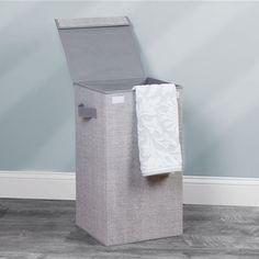 Aldo vasketøjskurv - grå med låg