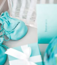 tiffany blue bags & gift boxes