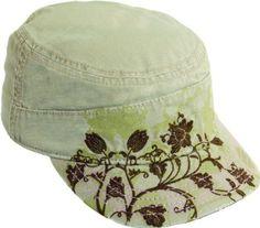 Scala Womens Floral Print Cadet Hat