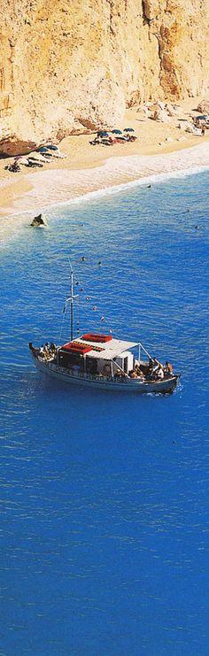 Greece, Santorini Island - White beach