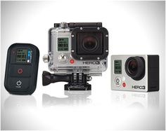 The Wi-Fi enabled HERO3: Black Edition is the most recent and advanced GoPro. This thing is 30% smaller, 25% lighter and 2x more powerful than previous models.   From Jimmy Chin's Top 8 Tech Toys: http://blog.jimmychin.com/?p=596