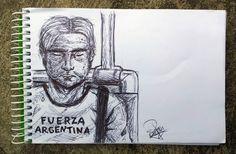 Fuerza Argentina by Nina-30.deviantart.com on @DeviantArt