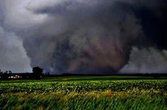 The Oklahoma tornado. Largest in US history. 2 1/4 mile wide … …