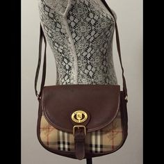 "Selling this ""Vintage Burberry cross-body purse"" in my Poshmark closet! My username is: jodyebusiness. #shopmycloset #poshmark #fashion #shopping #style #forsale #Burberry #Handbags"