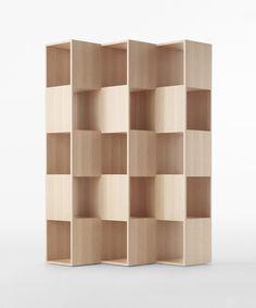 'Fold' shelf - Nendo