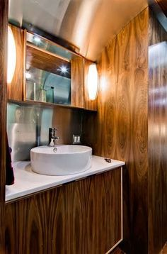 airstream campers remodel | Timeless Travel Trailer 40ft Airstream Remodel | Airstreaming