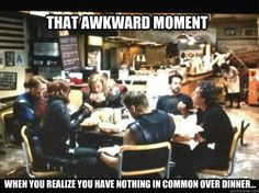 Avengers | That awkward moment when you realize you have nothing in common...
