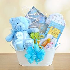 The Perfect Gift Basket - New Arrival Baby Boy