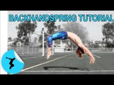 How To Back Handspring In 4 Steps Even Without A Gym or Spotter - YouTube