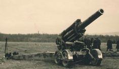 A magyar honvédség 40M 21cm nehéztarackja és Breda nehéztüzérségi vontatója Hungarian 40M 210mm heavy howitzer in ww2 Cannon, Army, Gi Joe, Military