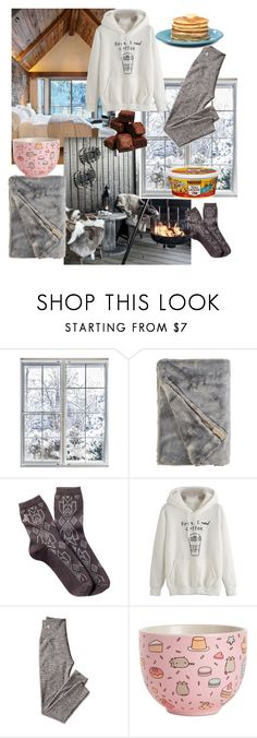 """Winter"" by regulus-star ❤ liked on Polyvore featuring Pendleton, Mark & Graham and Department 56"