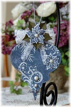 Heartfelt Creations | Frosty Blanket Ornament