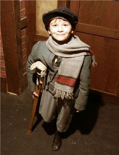 Natalie & Brianna-A possibility for tiny Tims costume-Hat,Scarf,Over-sized coat, and a crutch. Christmas Fair Ideas, Ghost Of Christmas Past, Cosy Christmas, Christmas Program, Victorian Christmas, A Christmas Story, Kids Christmas, Vintage Christmas, Costume Hats