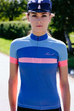 Womens Cycling Jersey from Mack Cycling // Colourful. #rideinstyle #bicyclelove #wishlist