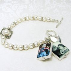 Are you looking for a special gift for Mother's Day? This custom photo charm bracelet says so much.