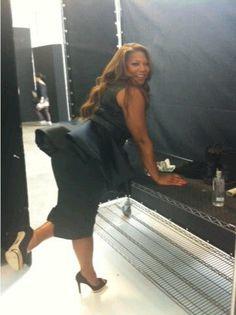 Queen Latifah Show Set ... Queen Latif...