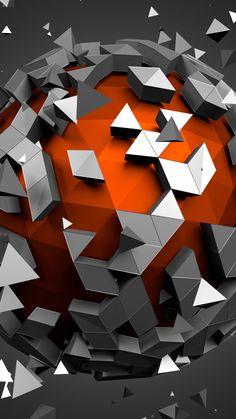 MuchaTseBle Bubbles Wallpaper, Screen Wallpaper, Cool Wallpaper, Mobile Wallpaper, Fractal Art, Fractals, Vintage Logo Design, Generative Art, Cool Walls