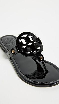 0c00ec5c4be3 Tory Burch Miller Patent Sandal
