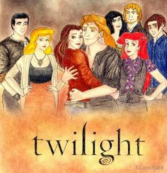 Disney Twilight. I love that Belle and Adam are the main characters