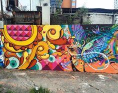 regram @instagrafite New work by @highraff and @boletabike  São Paulo  Brasil
