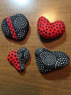 Valentine Painted Rocks 12