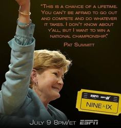 e2190242ec0413eadca8f73c07374308 basketball quotes basketball coach game on pat summitt on the fight of her life volleyball