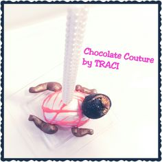 Chocolate Couture by TRACI... Crawling Princess Baby Cakepop All Edible!!!  U.S. PATENT 20120328742 (Decorative Toothpick Mold)