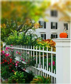 front yard fence gard pinterest. Black Bedroom Furniture Sets. Home Design Ideas