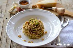 Spaghetti Integrali con Broccoli Bottarga di Muggine e Noci di Fatto in casa è più buono