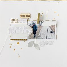 Janna Werner Sizzix 11 gold, white and silver fits any occasion