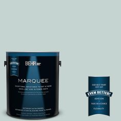 BEHR MARQUEE 1-gal. #490E-3 Celtic Gray Satin Enamel Exterior Paint