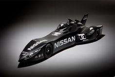 Nissan's DeltaWing racecar which will participate in the 2012 Le Mans 24-hour endurance race.